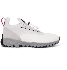 Moncler 2 Moncler 1952 Jericho Neoprene, Suede and Rubber Sneakers