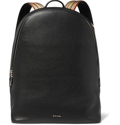 Paul Smith Full-Grain Leather Backpack