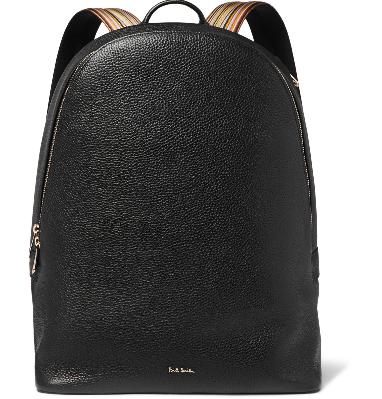 Full-grain Leather Backpack Paul Smith Y6r8yVJc