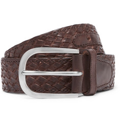 Paul Smith - Woven Leather Belt