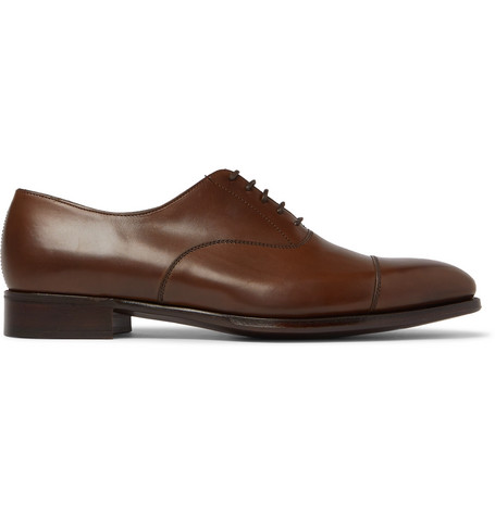 Kingsman George Cleverley Harry Leather