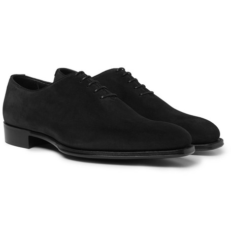 + George Cleverley James Suede Oxford Shoes Kingsman AAYgbxG2xP