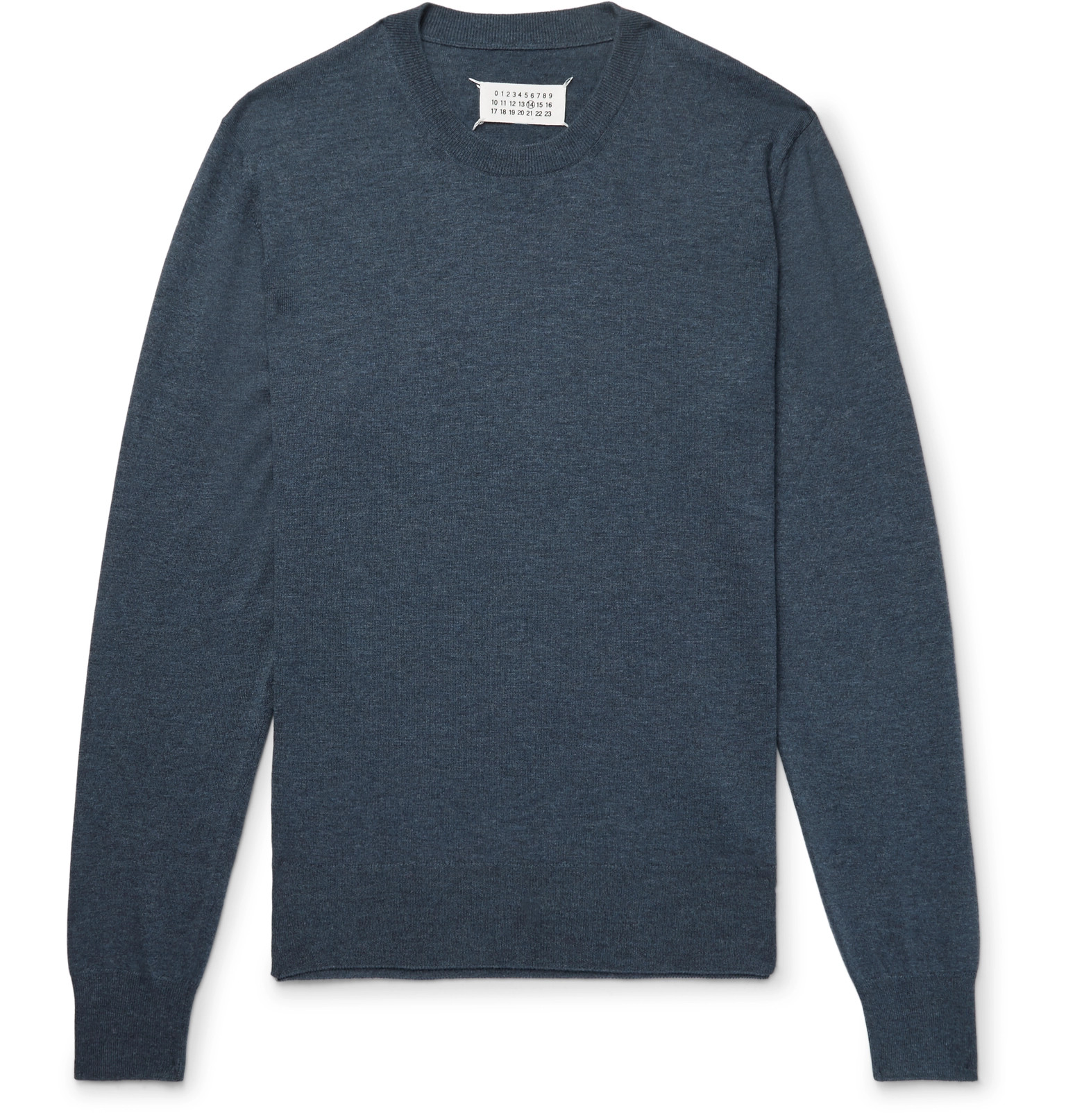 Suede Wool Patch Elbow Fit And Margiela Slim Cotton Maison qxTtv6wv