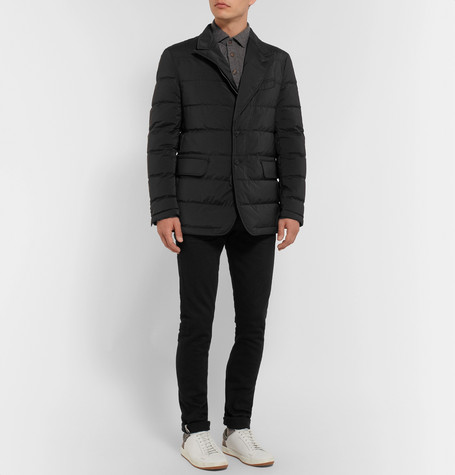 Slim Fit Quilted Shell Down Jacket by Tom Ford