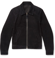 TOM FORD - Slim-Fit Suede Blouson Jacket