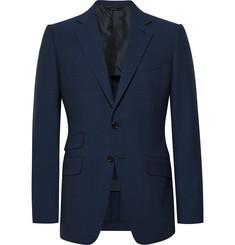 탐 포드 Tom Ford Navy OConnor Slim-Fit Wool Suit Jacket,Navy