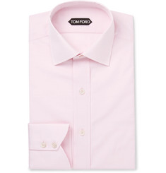 TOM FORD - Slim-Fit Cotton-Poplin Shirt