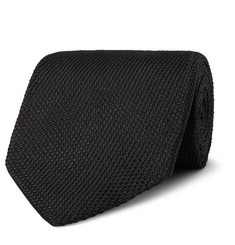 TOM FORD 8cm Woven Silk Tie