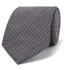 TOM FORD 8cm Pin-Dot Wool and Silk-Blend Tie