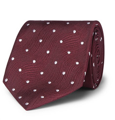 TOM FORD 8cm Polka-Dot Silk-Jacquard Tie