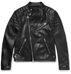 TOM FORD Slim-Fit Leather Biker Jacket
