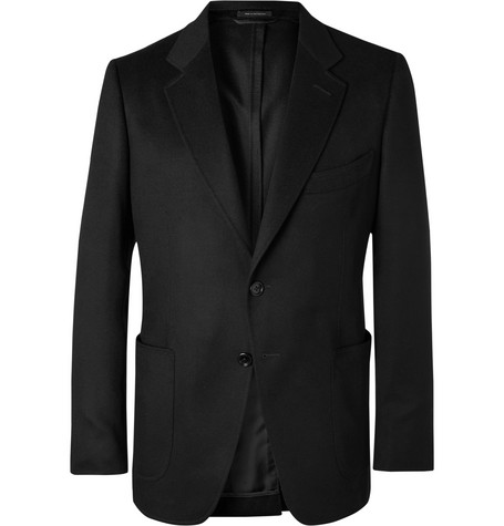 Black O'connor Slim Fit Cashmere Blazer by Tom Ford