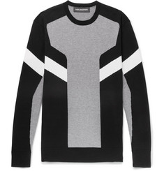 Neil Barrett Intarsia Cotton Sweater