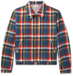 Thom Browne - Checked Wool-Blend Blouson Jacket