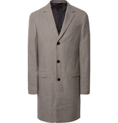 Lanvin Houndstooth Wool Coat