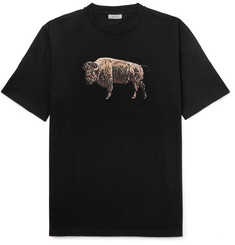 Lanvin Printed Cotton-Jersey T-Shirt