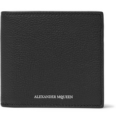 Alexander McQueen Full-Grain Leather Billfold Wallet