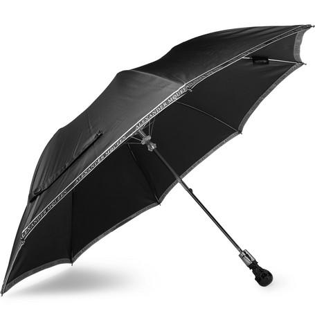 Skull-handle Twill Umbrella