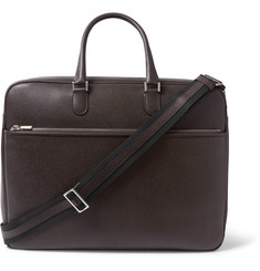Valextra - Pebble-Grain Leather Briefcase