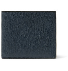 Valextra - Pebble-Grain Leather Billfold Wallet