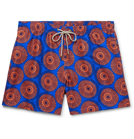Ali Mid-length Printed Swim Shorts OKUN Best Place Big Sale Clearance New erlwJ