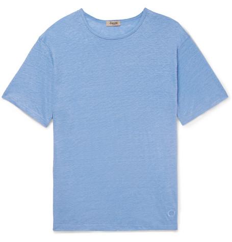 OKUN Sanda Slub Linen T-Shirt