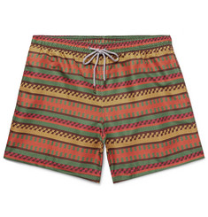 Okun Ali Mid-Length Printed Swim Shorts