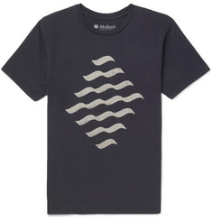 Mollusk Reflections Printed Cotton-Jersey T-Shirt