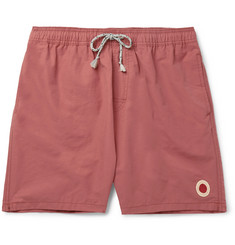 Mollusk Long-Length Cotton-Blend Swim Shorts
