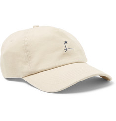 Mollusk - Windjammer Embroidered Cotton-Twill Baseball Cap