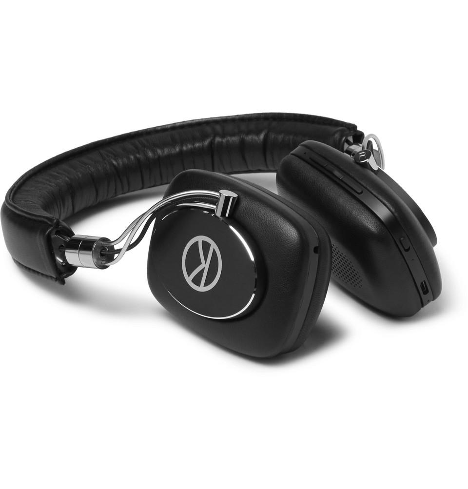 Billede af + Bowers & Wilkins P5w Leather-covered Wireless Headphones - Black