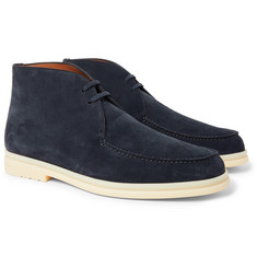 Loro Piana - Walk and Walk Suede Chukka Boots