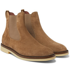 Loro Piana - Winter Beatle Walk Suede Chelsea Boots