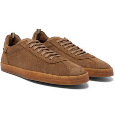 Officine Creative - Karma Suede Sneakers
