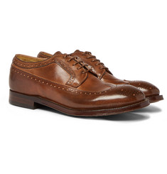 Officine Creative - Williams Burnished-Leather Brogues