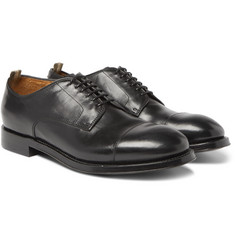 Officine Creative - Williams Cap-Toe Polished-Leather Derby Shoes