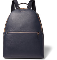 Smythson - Burlington Full-Grain Leather Backpack