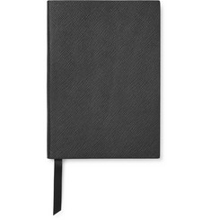 Smythson - Panama Soho Cross-Grain Leather Notebook