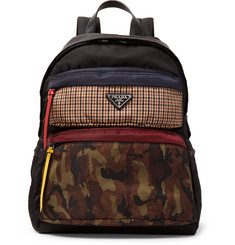 Prada - Printed Nylon Backpack