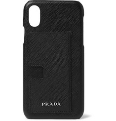 Prada - Saffiano Leather iPhone X Case
