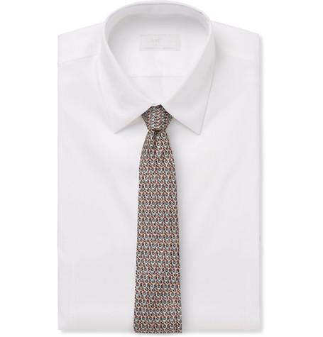 6.5cm Silk Jacquard Tie by Prada