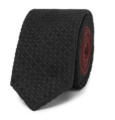 Prada 5.5cm Textured-Jacquard and Silk Tie