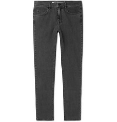 McQ Alexander McQueen - Strummer Slim-Fit Panelled Stretch-Denim Jeans