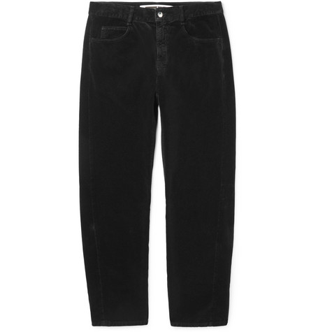 MCQ BY ALEXANDER MCQUEEN COTTON-MOLESKIN TROUSERS