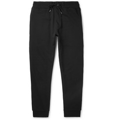 McQ Alexander McQueen - Slim-Fit Logo-Print Stretch-Cotton Jersey Sweatpants