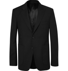SALLE PRIVÉE Black Lloyd Wool and Mohair-Blend Suit Jacket