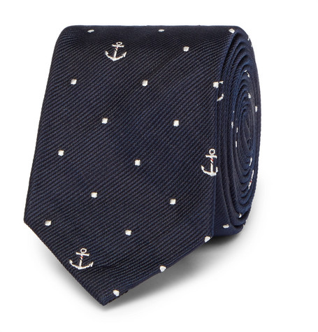 5cm-silk-jacquard-tie by thom-browne
