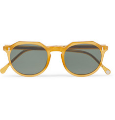 Cubitts Cartwright Round-Frame Acetate Sunglasses