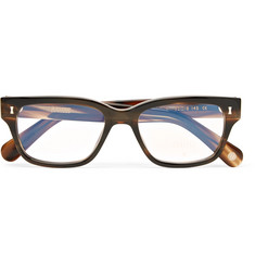 Cubitts Belgrove D-Frame Tortoiseshell Acetate Optical Glasses