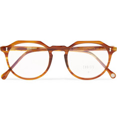 Cubitts Cartwright Round-Frame Tortoiseshell Acetate Optical Glasses